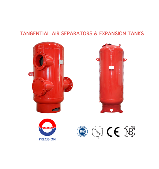 Air seperators and Expansion Tanks