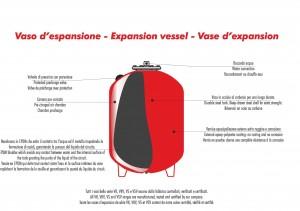 Boilers expansion tanks
